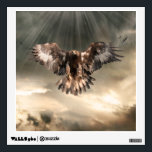 """Golden Eagle Wall Sticker<br><div class=""""desc"""">The Golden Eagle (Aquila chrysaetos) is one of the best known birds of prey in the Northern Hemisphere. Like all eagles, it belongs to the family Accipitridae. Once widespread across the Holarctic, it has disappeared from many of the more heavily populated areas. Despite being extirpated from or uncommon in some...</div>"""