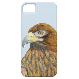 Golden Eagle Watercolour Painting Phone Case