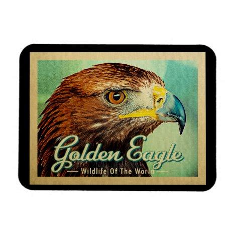 Golden Eagle - Wildlife of the World Bird Magnet