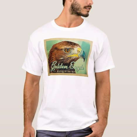 Golden Eagle - Wildlife of the World Bird T-Shirt
