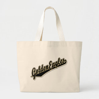 Golden Eagles in Gold and Black Tote Bags
