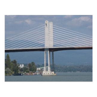 Golden Ears Bridge (Post Card) Postcard