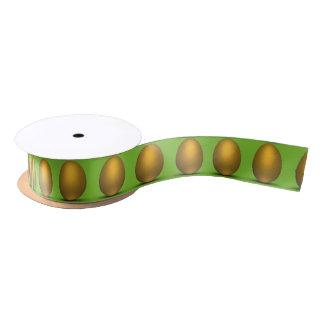 Golden Easter Eggs - Ribbon