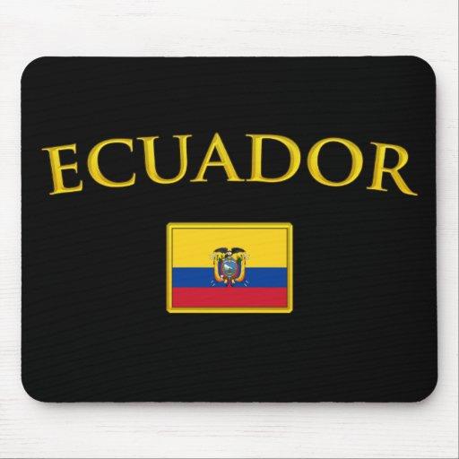 Golden Ecuador Mouse Mats