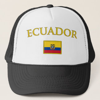 Golden Ecuador Trucker Hat
