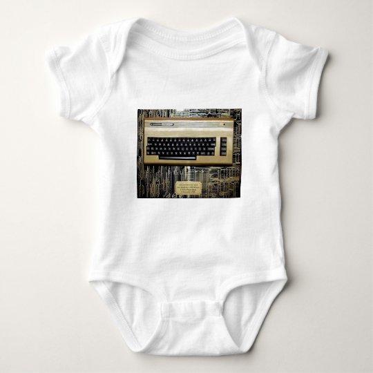 GOLDEN EDITION C64 BABY BODYSUIT