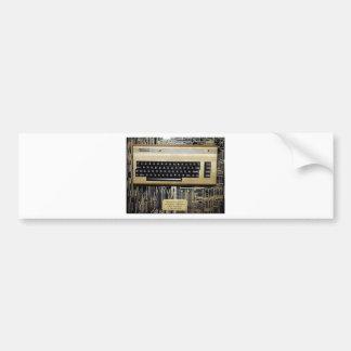 GOLDEN EDITION C64 BUMPER STICKER