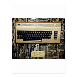 GOLDEN EDITION C64 POSTCARD
