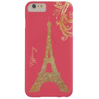 Golden Eiffel Tower Custom iPhone 6 Plus Case