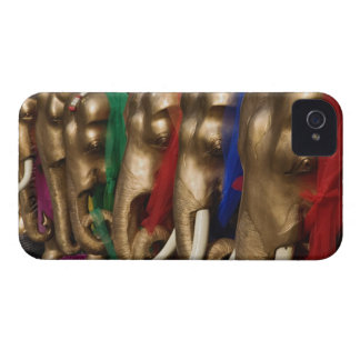 Golden elephants decorated with colorful Case-Mate iPhone 4 case