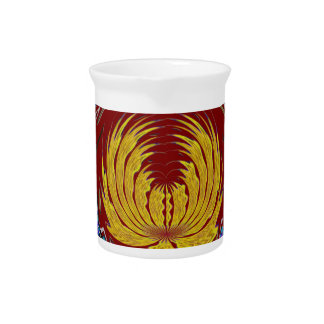 Golden EMBLEM of Growth with PEACE gift for all Drink Pitcher