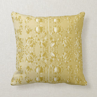Golden embroidery Pillow