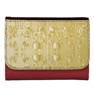 Golden Embroidery Wallet
