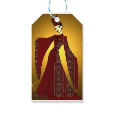 jasmineflynn Golden Empress Gift Tags