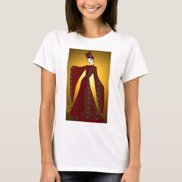 jasmineflynn Golden Empress T-Shirt