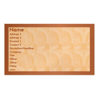 Golden Engraved Look - Solid Metal look Border Business Card