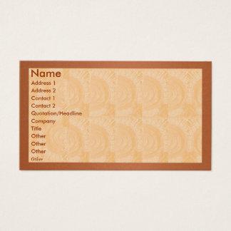 Golden Engraved Look - Solid Metal look Border Business Card
