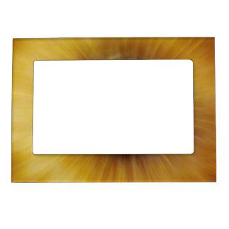 Golden Explosion Magnetic Photo Frame