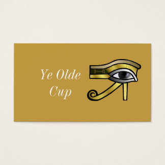 Golden Eye of Horus Business Card