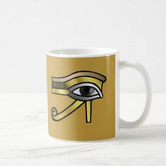 Golden Eye of Horus Mug