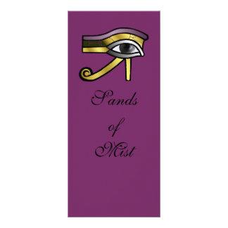 Golden Eye of Horus Rack Card