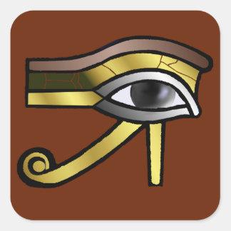 Golden Eye of Horus Sticker