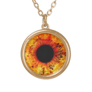 Third eye jewelry zazzle golden eye pendant necklace third eye jewelry mozeypictures Image collections