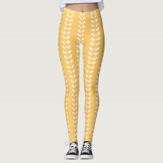 Golden EyeLash Designer Leggings, M (8-10) Leggings