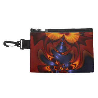 Golden Eyes, Abstract Amber Enchantment Accessory Bags
