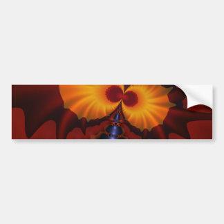 Golden Eyes – Amethyst & Amber Enchantment Bumper Sticker