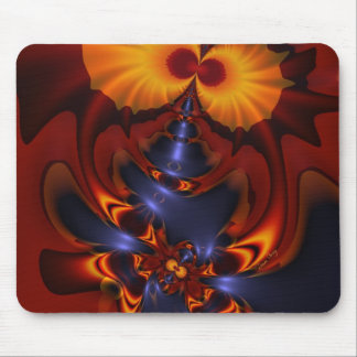 Golden Eyes – Amethyst & Amber Enchantment Mouse Pad