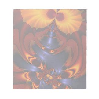 Golden Eyes – Amethyst & Amber Enchantment Memo Note Pad
