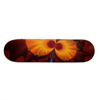 Golden Eyes – Amethyst & Amber Enchantment Skateboard Deck