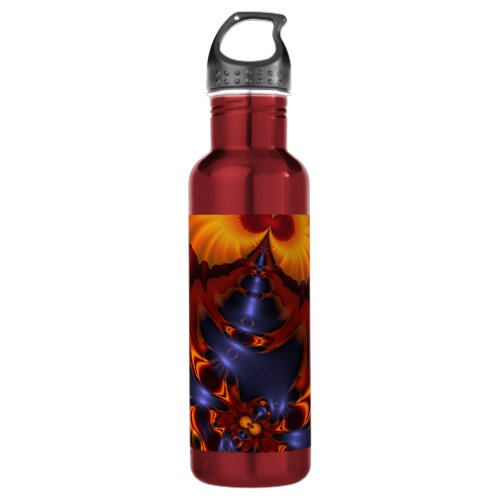 Golden Eyes – Amethyst & Amber Enchantment Water Bottle