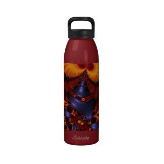 Golden Eyes – Amethyst & Amber Enchantment Water Bottles