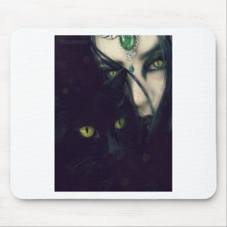 Golden Eyes Mouse Pad