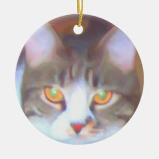 Golden Eyes ornament