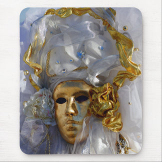 Golden Face Mouse Pad