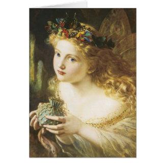Golden Faerie Card