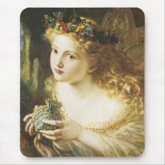 Golden Faerie Mouse Pad