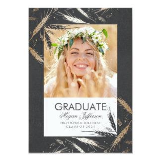 Golden Fall | Photo Graduation Card