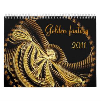 Golden fantasy, 2011 calendar