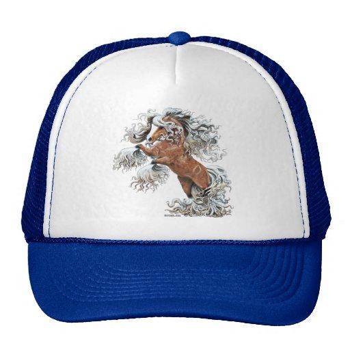 golden fantasy horse trucker hats