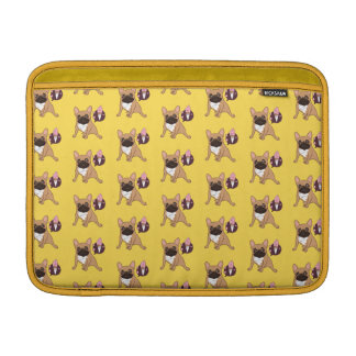Golden Fawn French Bulldog wants an ice cream MacBook Air Sleeve