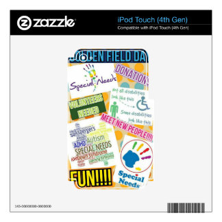 Golden Field Day inc Skin For iPod Touch 4G