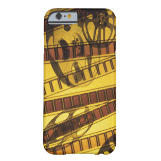 Golden Film Movie Reels Barely There iPhone 6 Case