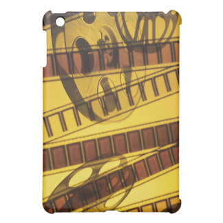 Golden Film Movie Reels Cover For The iPad Mini