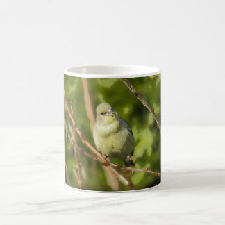 Golden Finch Simplified Classic White Coffee Mug