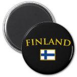 Golden Finland Magnet