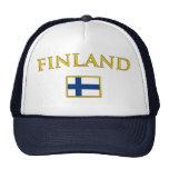 Golden Finland Mesh Hats